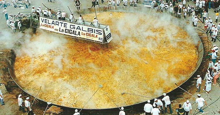 Paella Gigante record