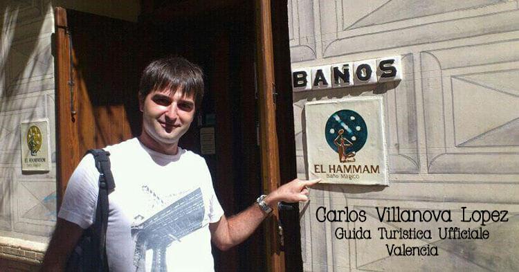 Carlos Villanova - Guida ufficiale a Valencia