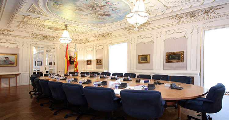 Cortes Valencianas Sala Pinazo