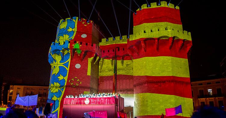 Crida - La chiamata - Evento las Fallas de Valencia