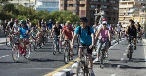 Valencia in bicicletta