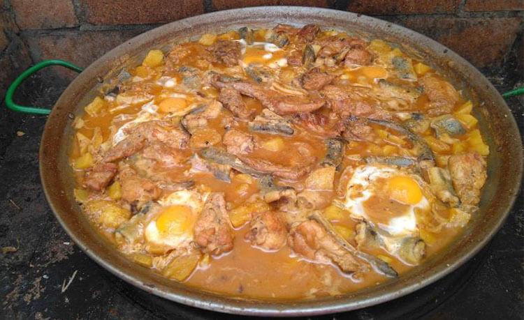 Espardenyà - Piatto tipico