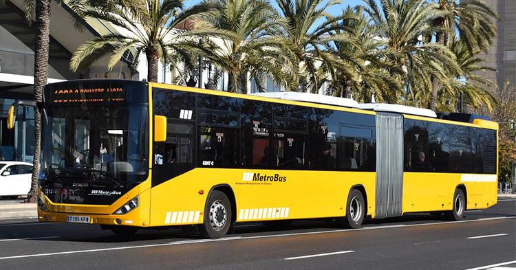 Trasporto extraurbano Valencia