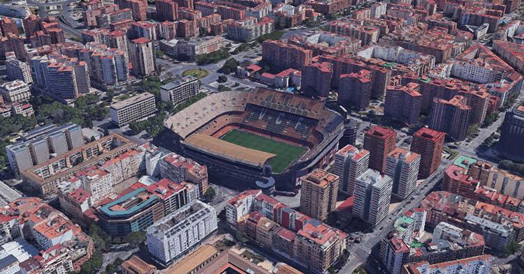 Stadio del Valencia - Mestalla