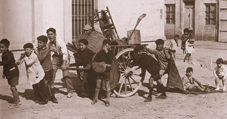 Origini della festa Las Fallas