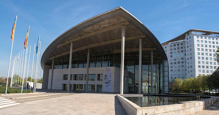 Palazzo dei congressi - Monumento di Valencia