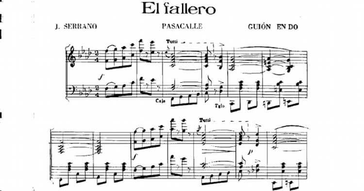 Pasodoble El Fallero - Maestro Serrano