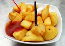 Tapa Patatas bravas