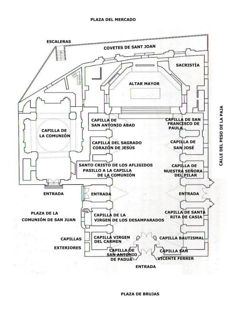 Piano chiesa Santi Giovanni