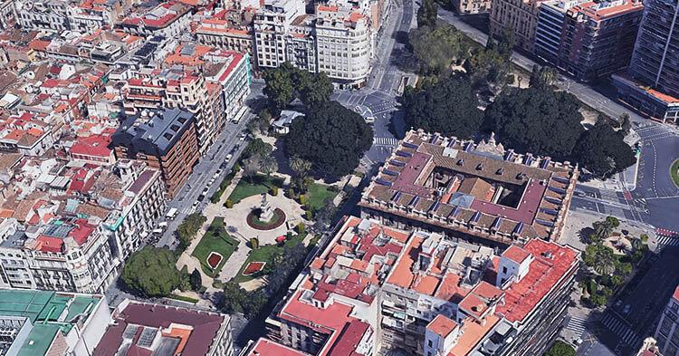 Plaza de Alfonso el Magnánimo
