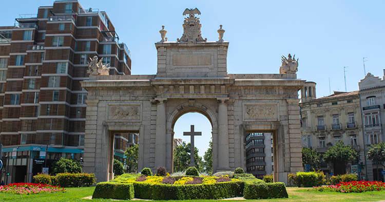 Puerta del mar - Monumento di Valencia