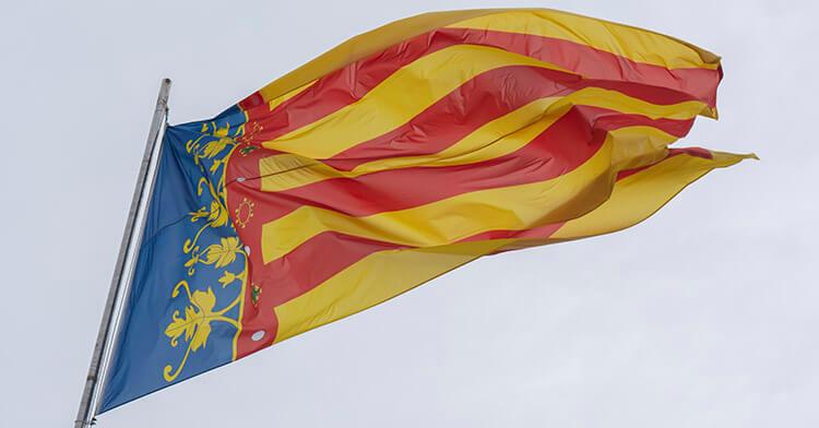 La bandiera di Valencia - La Senyera