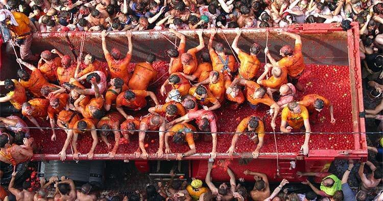 Battaglia di Pomodori di Buñol