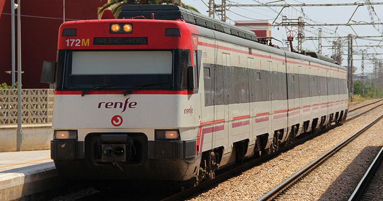 Spostarsi in treno a Valencia